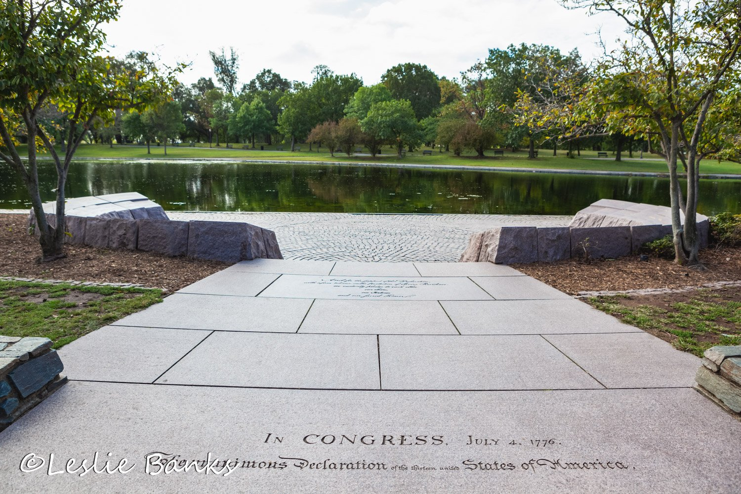 Entry to the 56 Signers Memorial