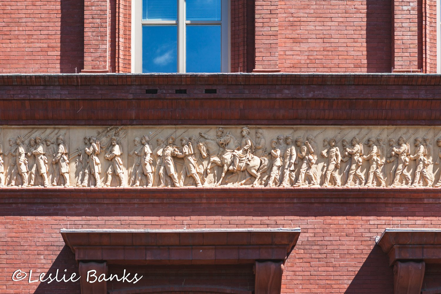 Frieze on the National Building Museum