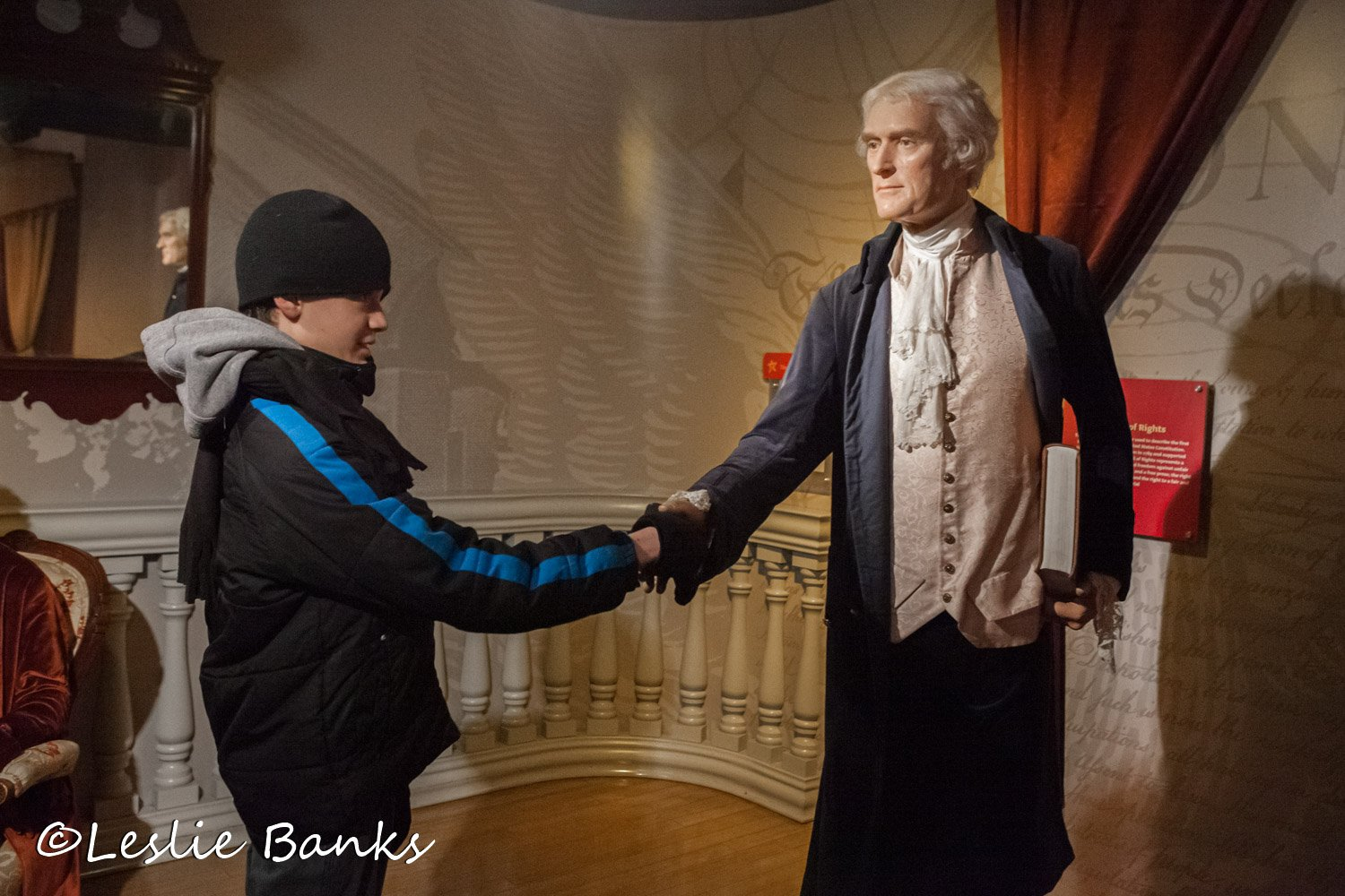Shaking Hands with Thomas Jefferson