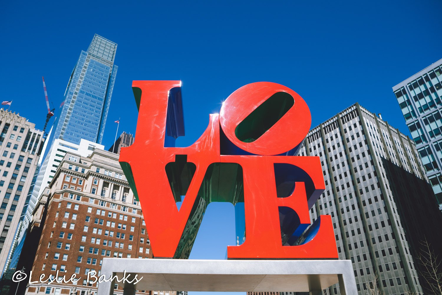 Love Sculpture in Philadelphia