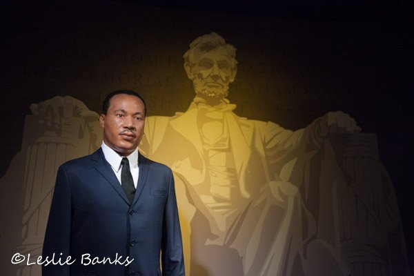 Martin Luther King Jr. Wax Statue