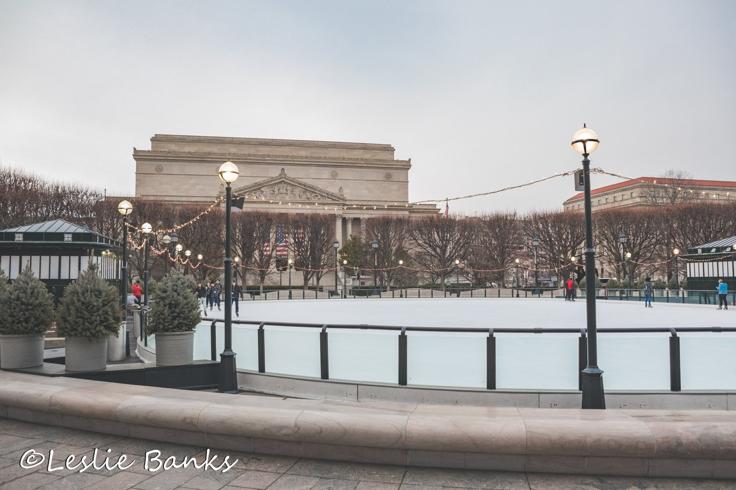 Ice Skating Rink at National Gallery of Art