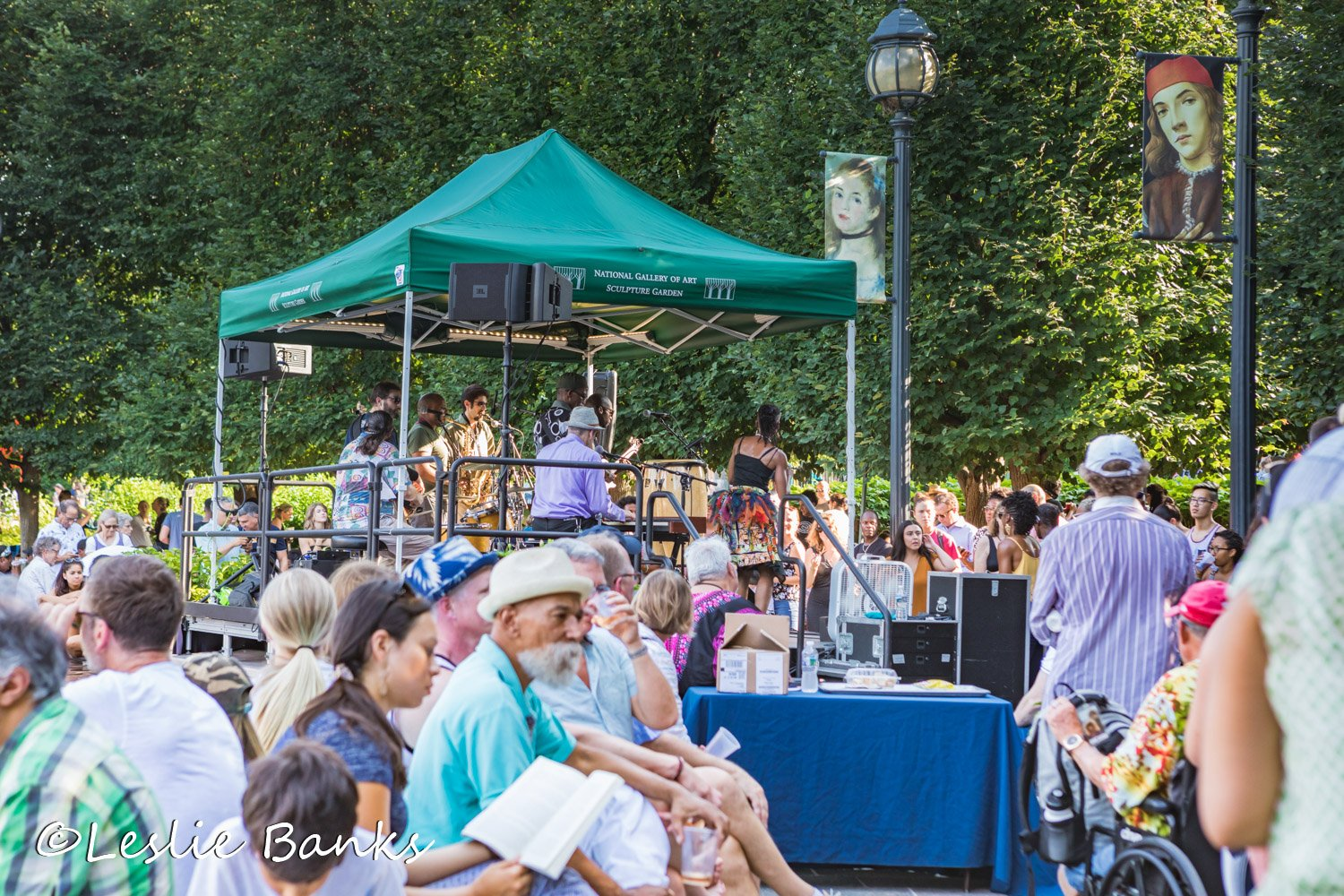 Jazz in the Garden Concert