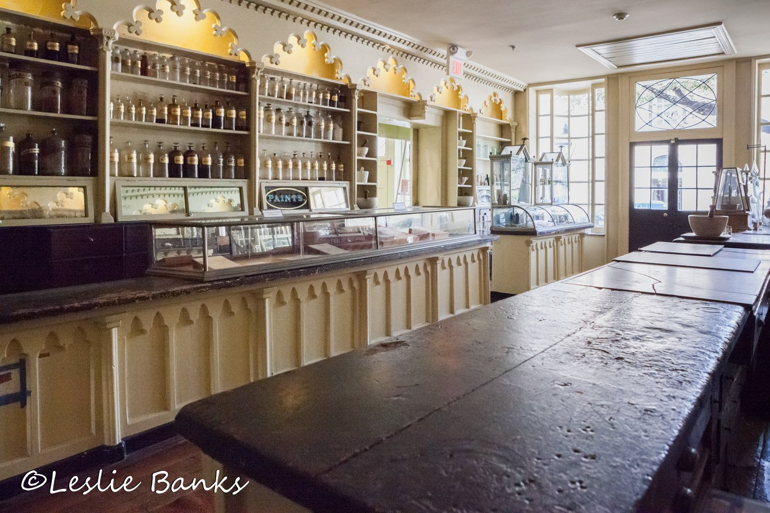 Stabler-Leadbeater Apothecary Retail Space