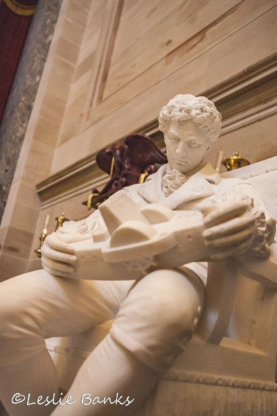 Robert Fulton Statue in the US Capitol